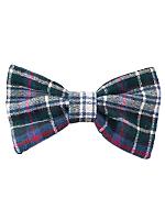 Plaid Flannel Bow Hair Clip