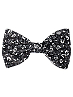 Printed Cotton Bow Hair Clip