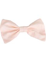 Poly Silk Bow Hair Clip