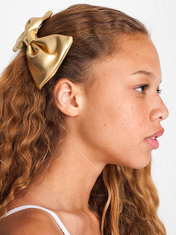 Small Bow Hair Clip