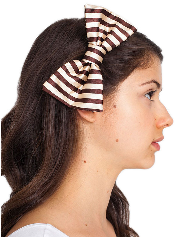 Satin Bow Hair Clip