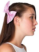 Satin Bow Hair Clip