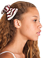 Sailor Stripe Bow Hair Clip