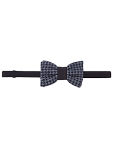 Unisex Houndstooth Bow Tie
