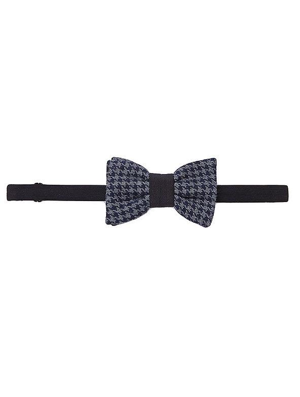 Unisex Houndstooth Bow Tie