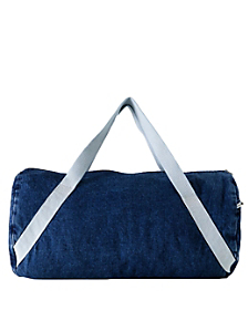 Diagonal Strap Gym Bag