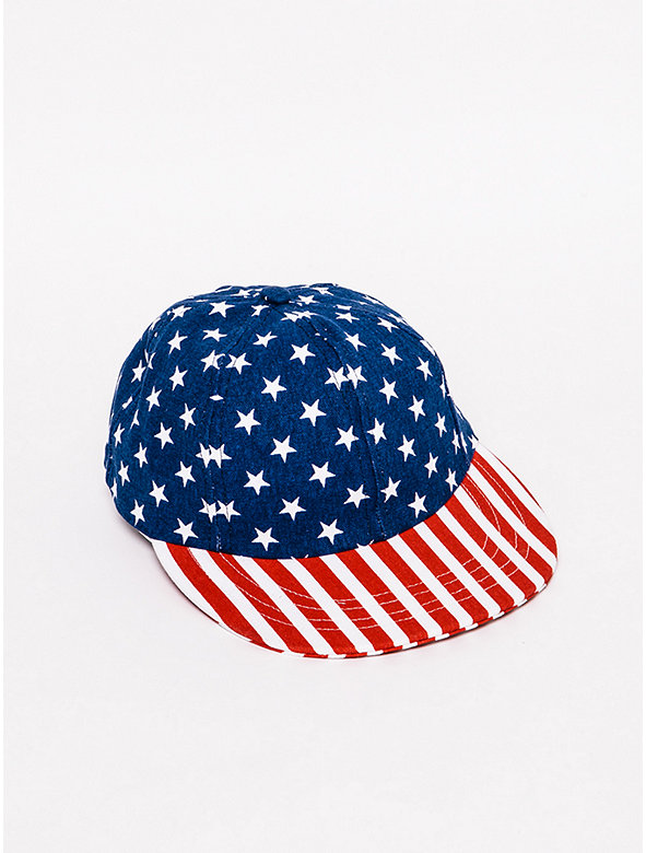 US Flag Baseball Cap