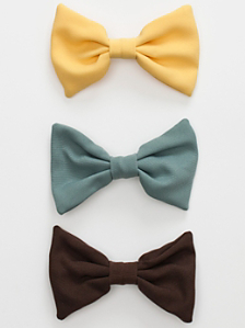 Bow Hair Clip (3-Pack)