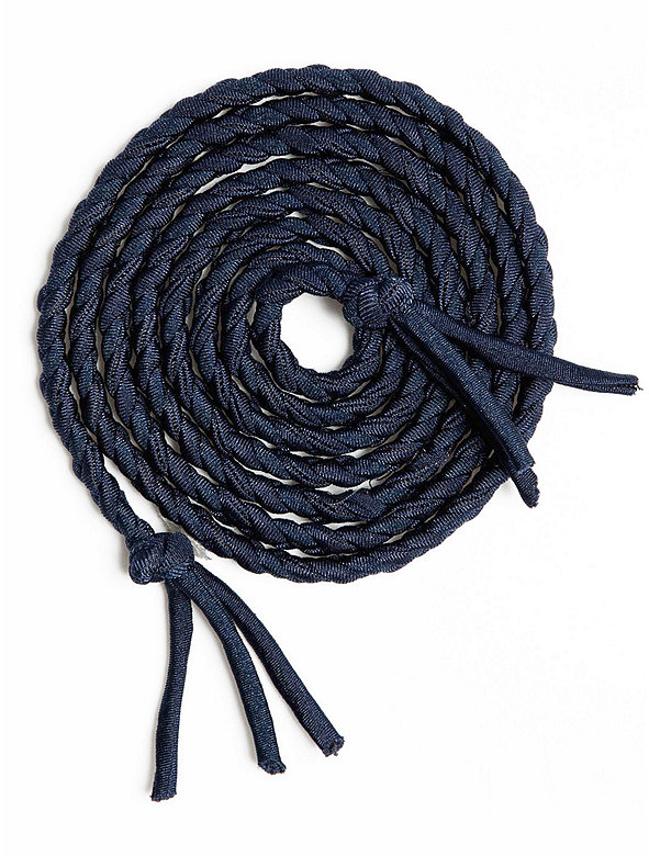 Nylon Tricot Braided Belt