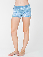 Tie Dye Thick Knit Jersey Safari Short
