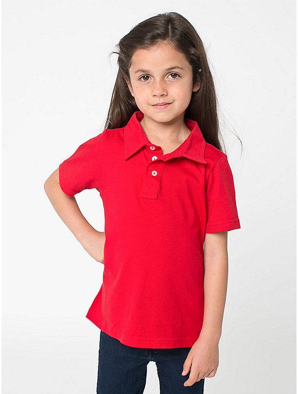 Kids' Fine Jersey Leisure Shirt