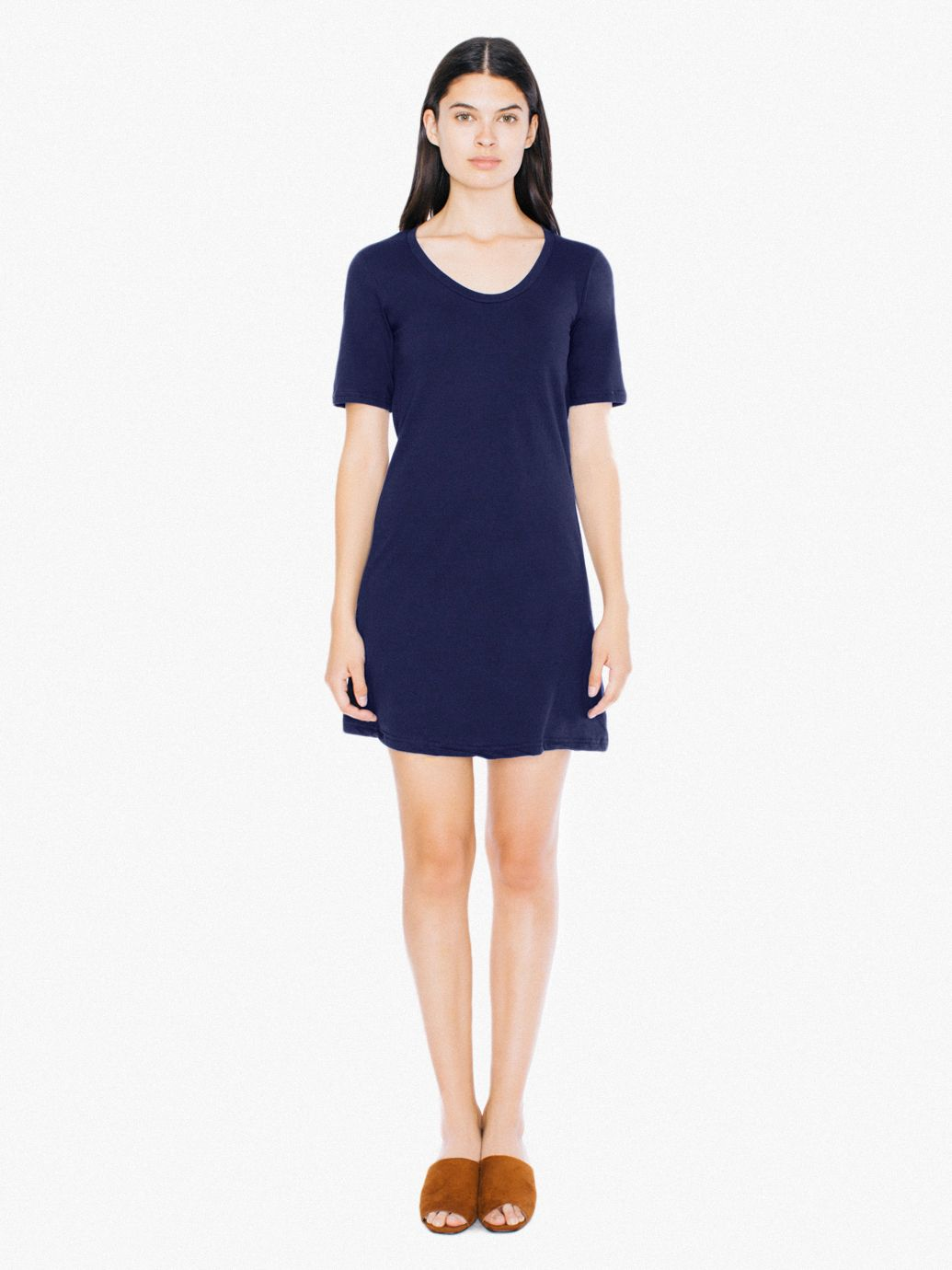 Fine Jersey T-Shirt Dress | American Apparel
