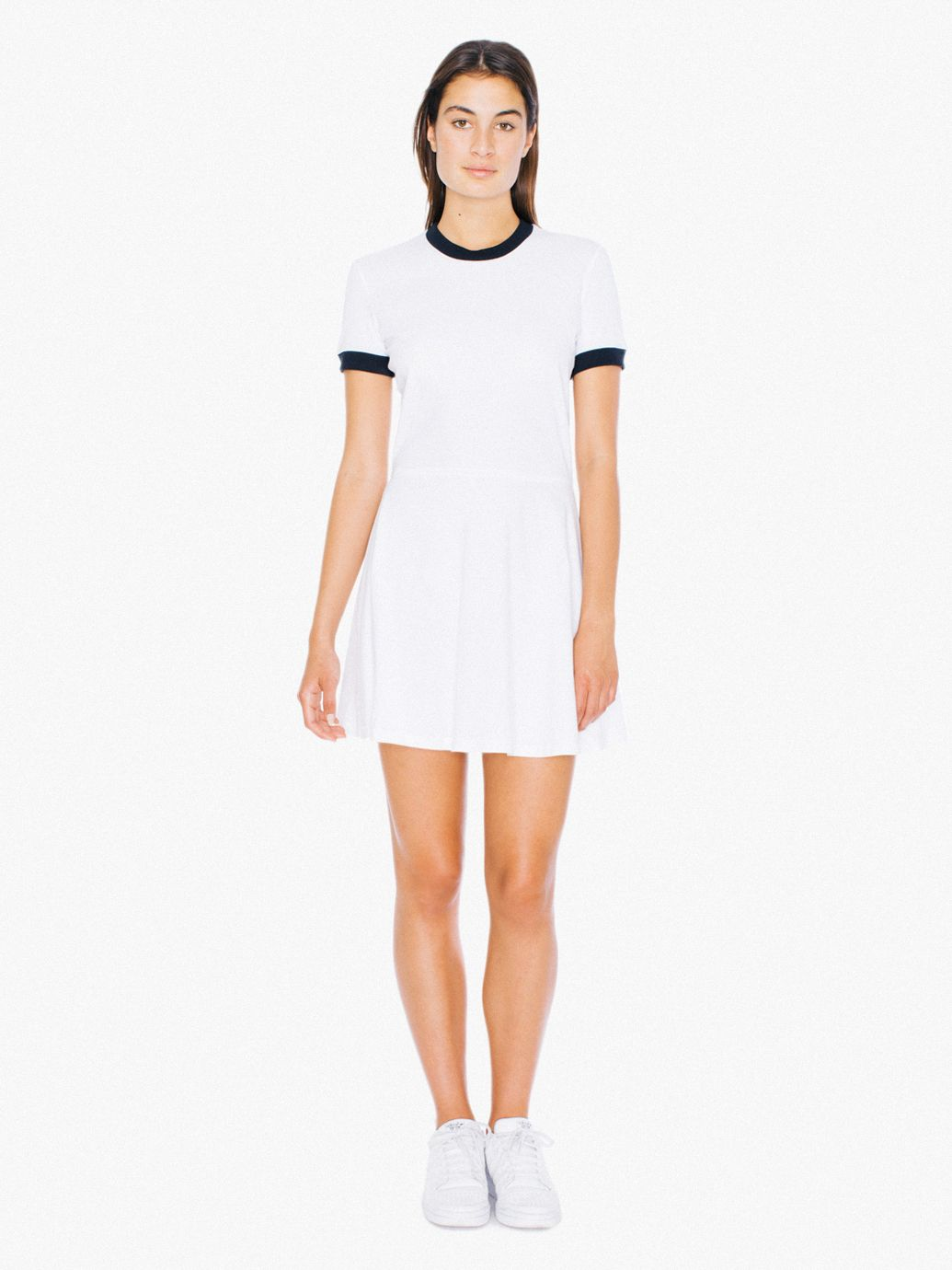 T-shirt dresses white