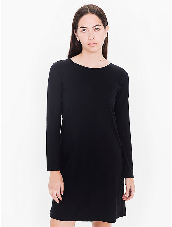 Power Wash Long Sleeve T-Shirt Dress