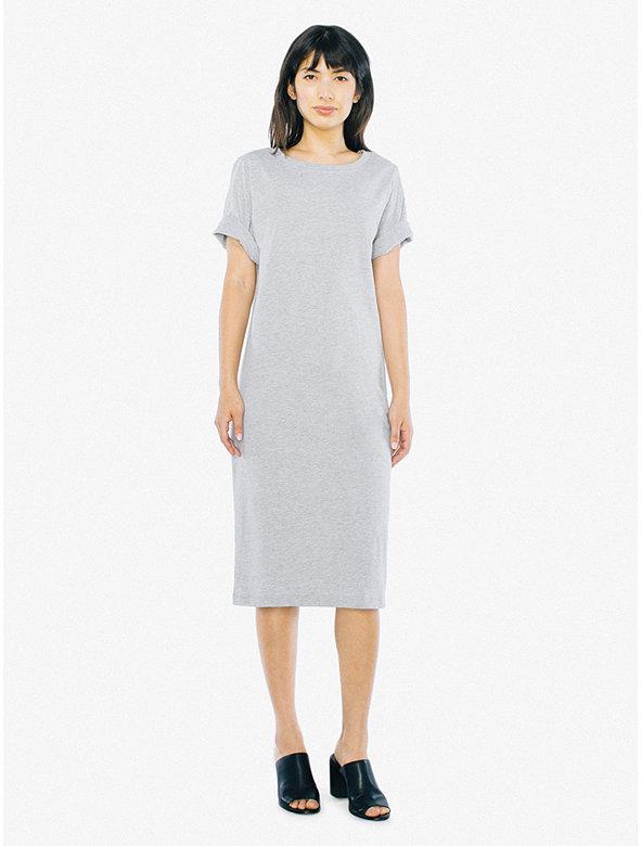 Fine Jersey T-Shirt Midi Dress