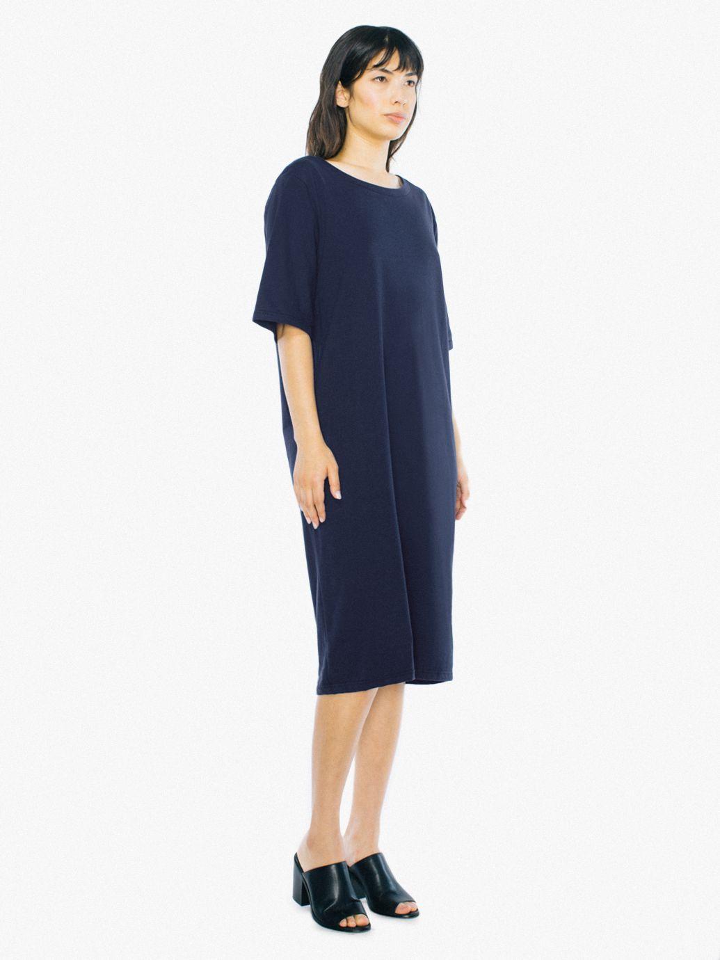 Ringspun shorts long denim dresses