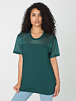 Unisex Athletic Contrast Tee