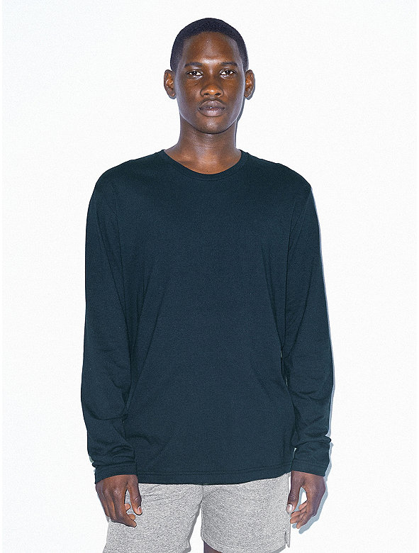 Power Wash Crewneck Long Sleeve T-Shirt