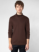 Fine Jersey Long Sleeve Turtleneck