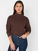 Unisex Fine Jersey Long Sleeve Turtleneck