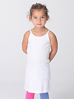 Kids' Baby Rib Spaghetti Tank Dress