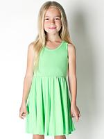 Highlighter Kids Baby Rib Skater Tank Dress