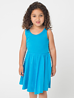 Highlighter Kids' Baby Rib Skater Tank Dress