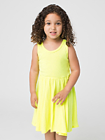 Highlighter Kids Baby Rib Skater Tank Dress