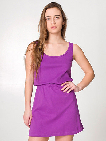 Baby Rib Mini Shift Dress
