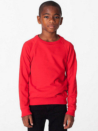 Youth California Fleece Raglan