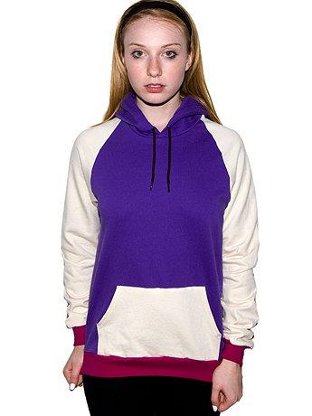 Unisex California Fleece X-Colour Hoodie