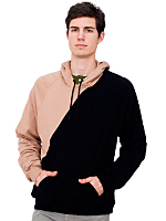 California Fleece Diagonal Pullover Hoody