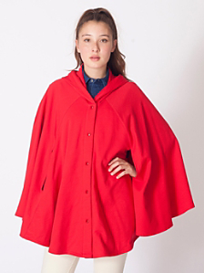 California Fleece Cape