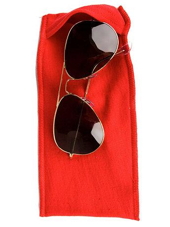 California Fleece Sunglass Case