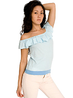 Sheer Jersey Chiquita Top