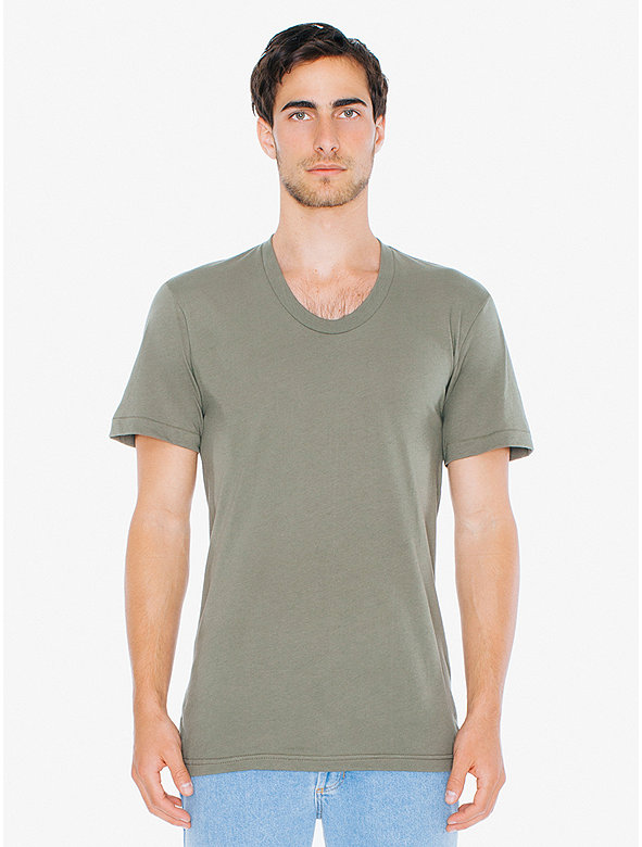 Sheer Jersey Loose Crewneck 'Summer' T-Shirt