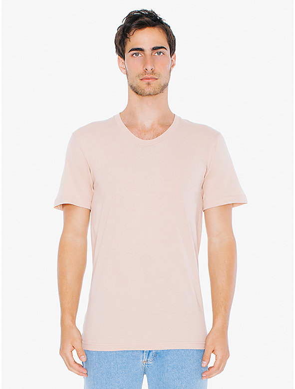 Sheer Jersey Loose Crewneck 'Summer' T-Shirt
