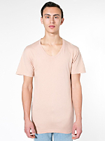 Sheer Jersey Loose Crew Summer T-Shirt