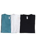 Sheer Jersey Loose Crew Summer T-Shirt (3-Pack)