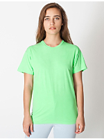 Unisex Highlighter Sheer Jersey T-Shirt