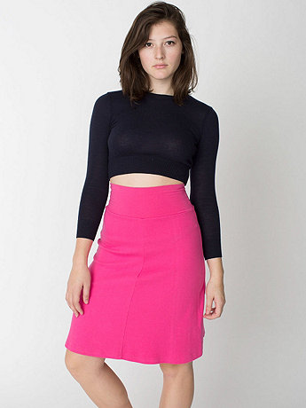 Interlock High-Waist Skirt
