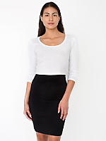 Interlock Pencil Skirt