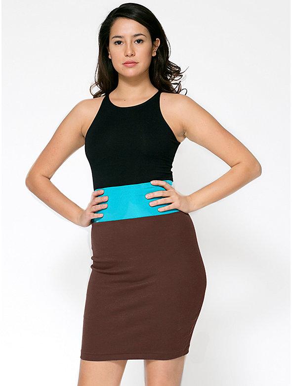 Interlock Pencil Skirt