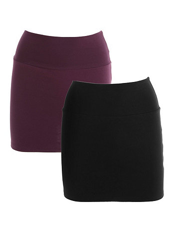 Interlock Mini Skirt (2-Pack)