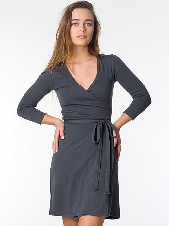 Interlock Wrap Dress