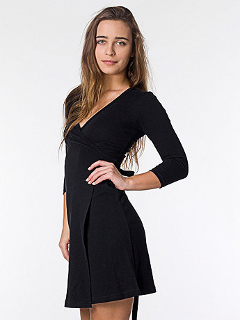 Interlock Wrap Dress
