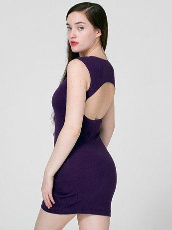 Interlock Cut-Out Back Mini Dress