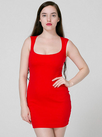 Interlock Cut-Out Back Mini Dress