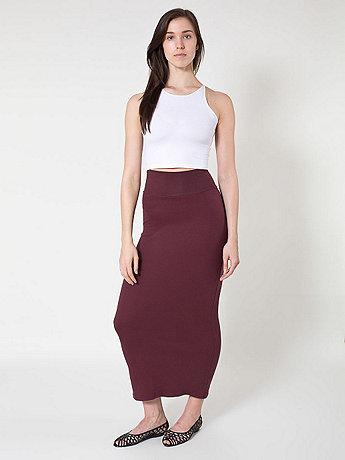 Interlock Long Skirt