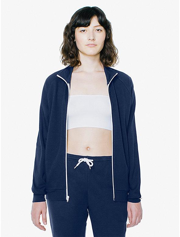 Unisex Interlock Track Jacket